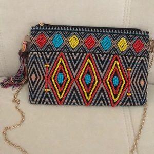 Ladies beaded bohemian bag